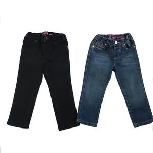 2 Pair of The Children's Place Skinny Jeans 2T